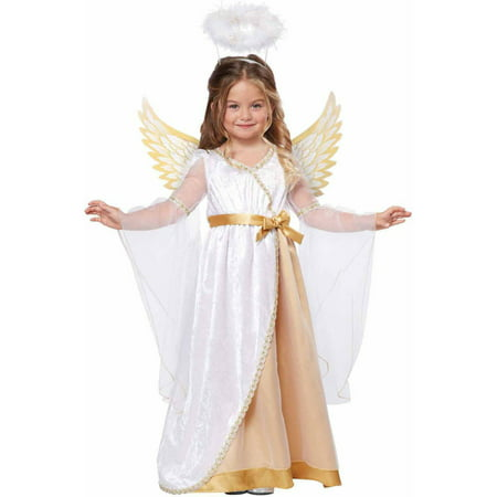Sweet Little Angel Girls' Toddler Halloween Costume - Angel Halloween Costumes