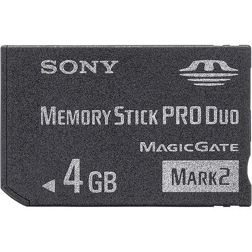 4GB MS PRO DUO FLCARD MARK2 MEDIA