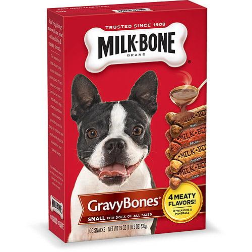 Milk-Bone GravyBones Dog Biscuits - Small, 19-Ounce