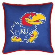 NCAA University of Kansas Sidelines Toss Pillow