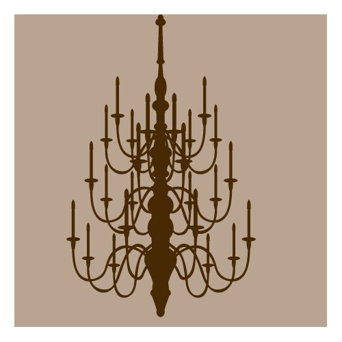 Sweetums Wall Decals Chandelier Wall Decal