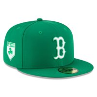 05d3a5d2aab Product Image Boston Red Sox New Era 2018 St. Patrick s Day Prolight  59FIFTY Performance Fitted Hat -