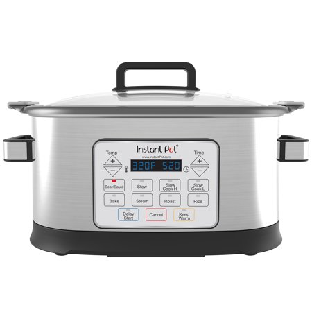 Instant Pot Gem 6 Qt 8-in-1 Programmable Multicooker with Advanced Microprocessor Technology