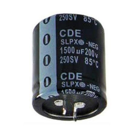 Cornell Dubilier 31-12040 4700Uf 50V 20% 30X25Mm 85C Alum Elec Capacitor 2 Pack
