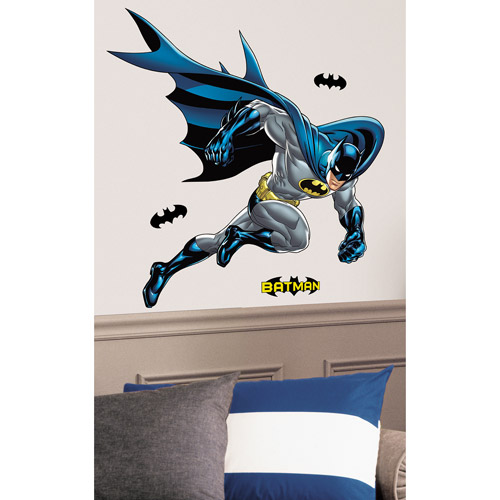 RoomMates Batman Bold Justice Peel & Stick Giant Wall Decal