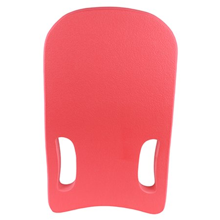 Adult Kickboard - CanDo deluxe kickboard with 2 hand holes, red
