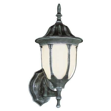 "Wall Sconces 1 Light Fixture With Swedish Iron Finish Cast Aluminum Medium 9"" 100 Watts"