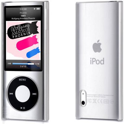 Crystal Shield Case for 5th Generation iPod Nano 5G - Clear (Ipod Nano Case 1st Generation)