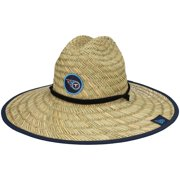 Tennessee Titans New Era 2021 NFL Training Camp Official Straw Lifeguard Hat - Natural - OSFA