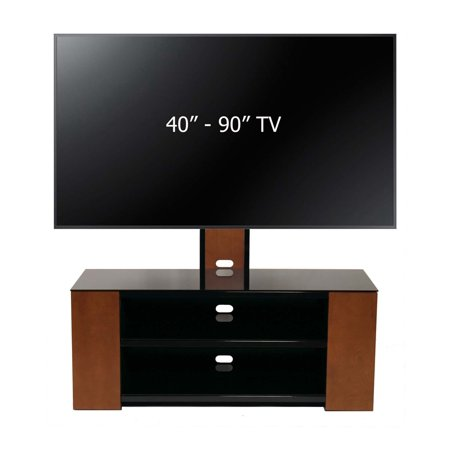 Versatile TV Stand w/Mount and Multimedia Storage Cabinet for 40-90
