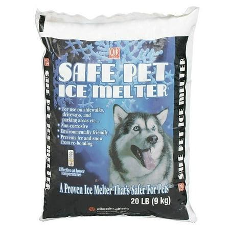Safe Pet  Coated Urea  Ice Melt  0 deg. F 20 lb. Bagged