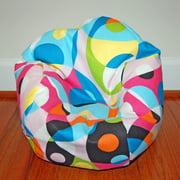 Ahh Products LiL Me Doll 14-inch Cotton Bean Bag Chair 14kalaidescopecotton