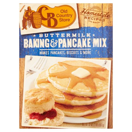 (2 Pack) Cracker Barrel Old Country Store Buttermilk Baking and Pancake Mix, 32oz