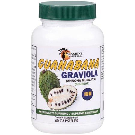 Sunshine Naturals® Guanabana Dietary Supplement 60 ct - Cats 60 Count Bottle