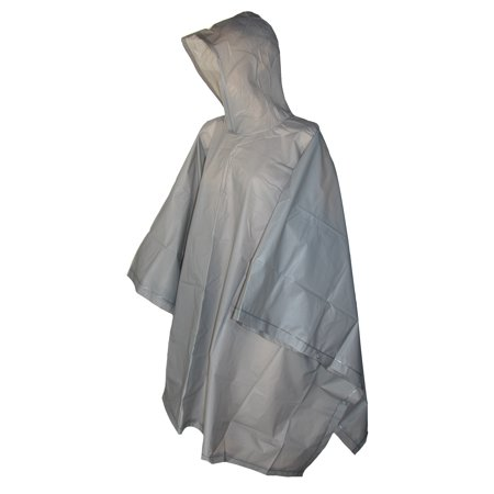 Size one sizeone size Hooded Pullover Rain Poncho with Side Snaps (Rain Ponchos Wholesale)