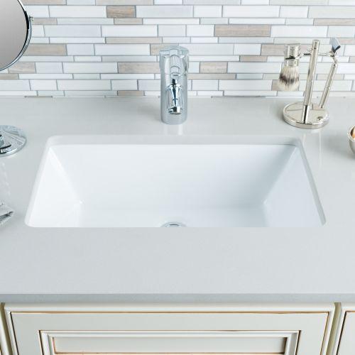 "Bathroom Sinks Walmart miseno mno2113ru rectangular 18-1/2"" undermount bathroom sink"
