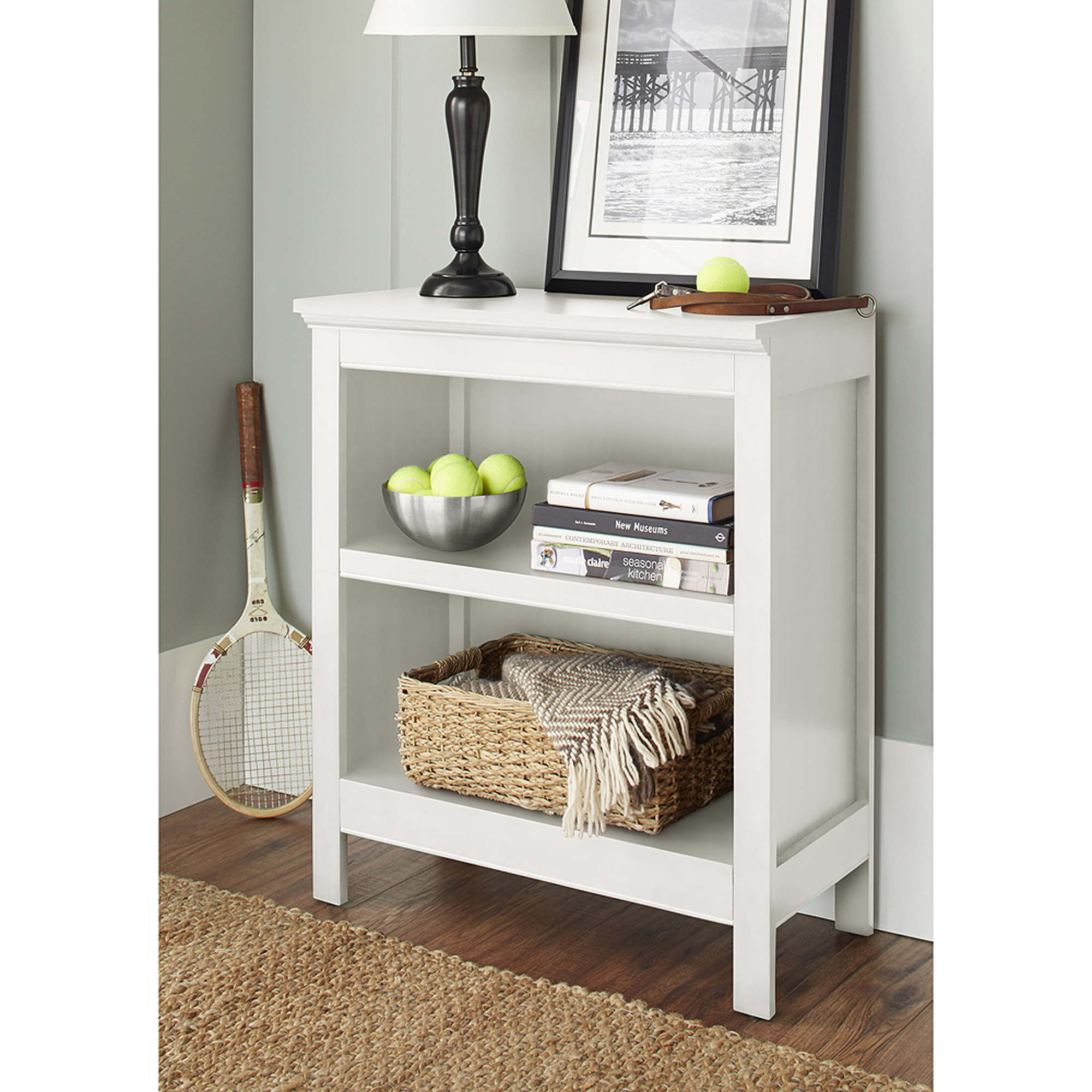 Don't sacrifice style to add extra storage in your home. We've got you covered with a Sauder cubby bookcase for storage and display. From the Barrister Lane storage furniture collection, this bookcase features 10 storage cubbyholes for you to organize, store and display your home essentials.