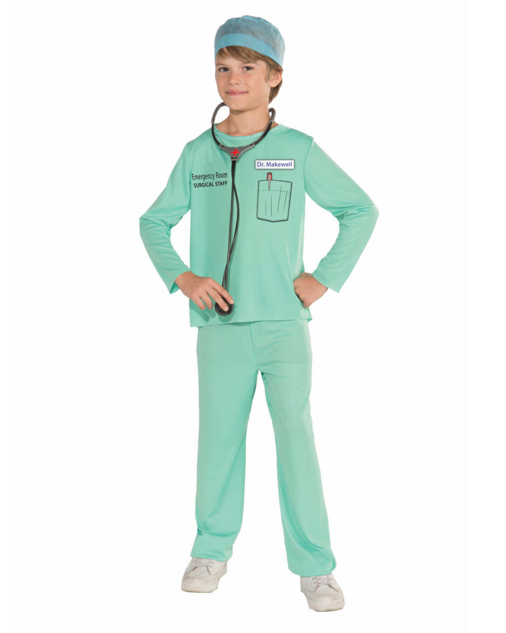 Childs Medical Masquerade Doctor Surgeon Dr Makewell Costume Small 4-6 - Walmart.com  sc 1 st  Walmart & Childs Medical Masquerade Doctor Surgeon Dr Makewell Costume Small 4 ...