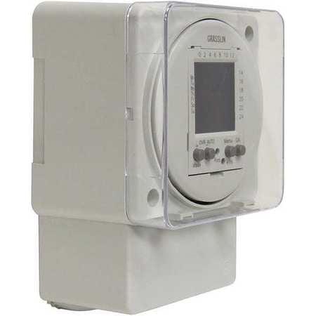 Intermatic Electronic Timer,24 hr/7 Days,SPDT-NO/N FM1D50...