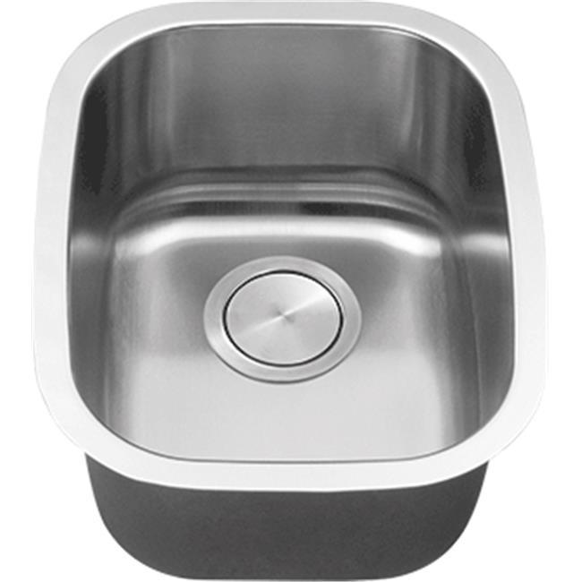 C-Tech-I LI-700 14 x 18 in. Stainless Steel Bar Bowl Sink - image 1 de 1