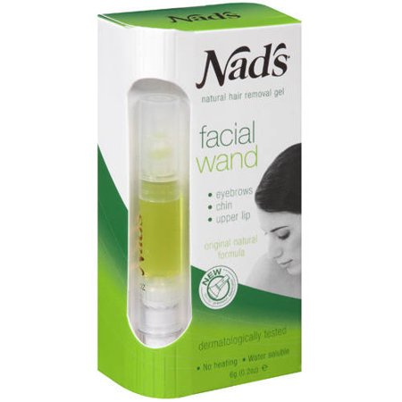 Nad's Women's Hair Removal Facial Wand and Eyebrow