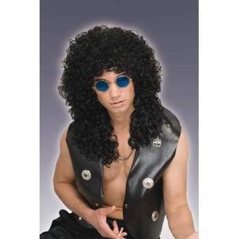 WILD CURL WIG-BLACK - Jheri Curl Wigs