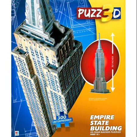 Cardinal Games   Empire State Building Puzz 3D Large