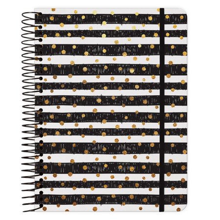 Gold Dots 2018 Weekly Note Planner