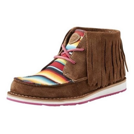 Ariat Casual Shoes Womens Fringe Cruiser Lace Up Brown Serape 10021578