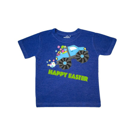 Happy Easter monster truck Toddler T-Shirt (Monsters Inc Clothing For Toddlers)