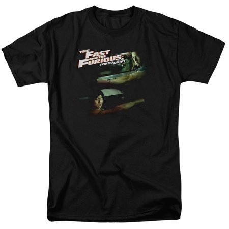 The Fast and the Furious Tokyo Drift Drifting Together Mens Short Sleeve