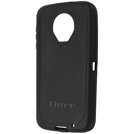detailed look 5ac10 dd6ae OtterBox Outer Rubber Shell Replacement for Moto Z2 Force Defender Case -  Black (Refurbished)