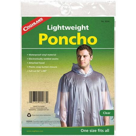 Coghlans Poncho](Clear Ponchos)