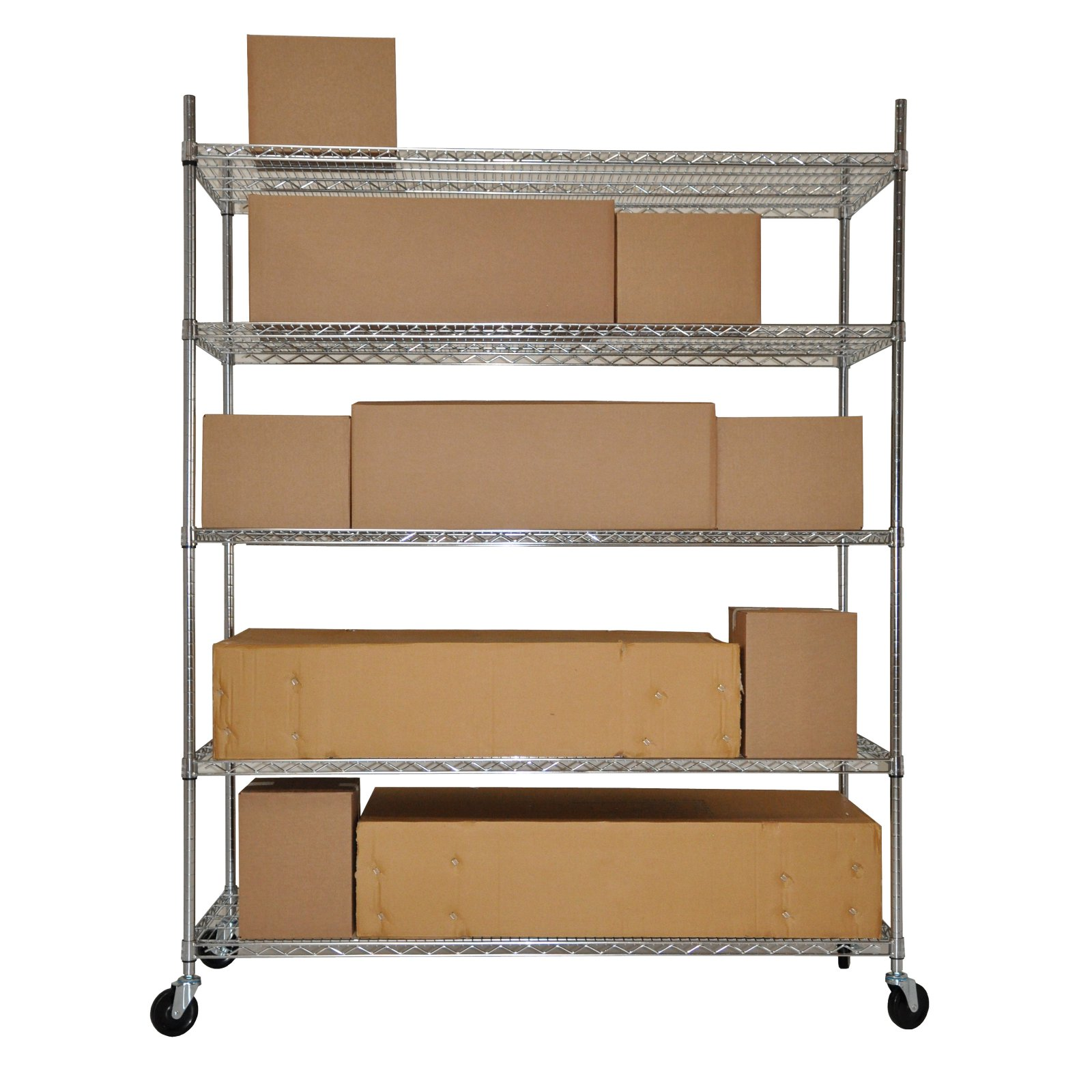 Trinity Heavy Duty Commercial Wire Shelving