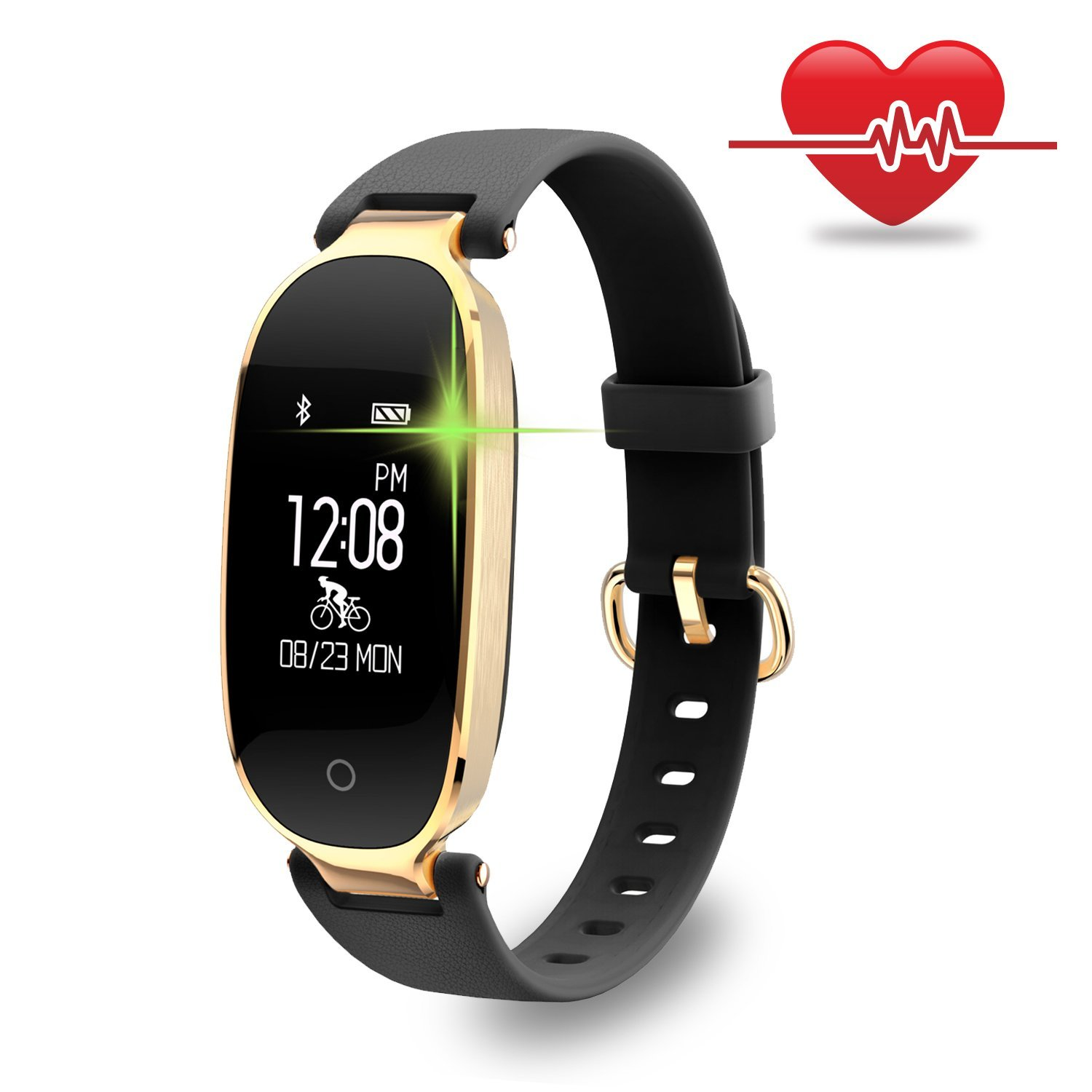Tagital Fitness Tracker Waterproof Activity Tracker Heart Rate Monitor Sleep Monitor Pedometer Smart Watch