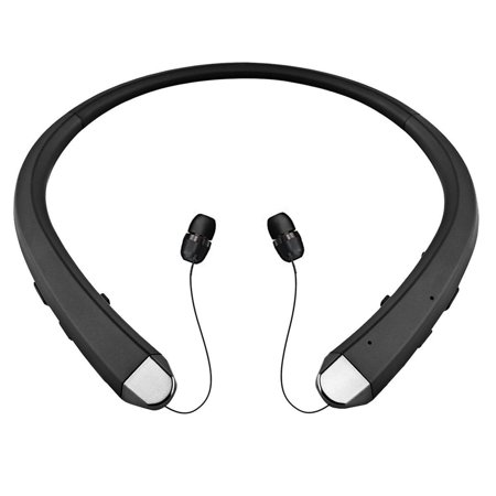 Wireless Bluetooth 4.0 Headset Sport Stereo Retractable Headphone Earbuds with Microphone In-ear Earbuds Android ISO iphone Noise Cancelling