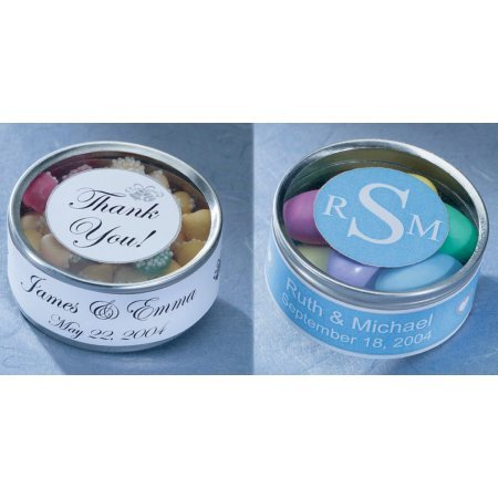 Wilton Favor Tin Kit, Silver, 25 Ct