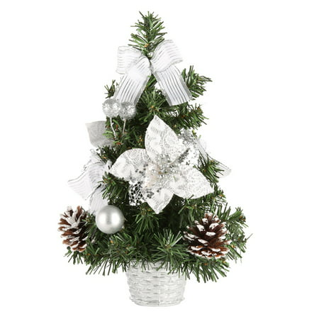 mini christmas tree christmas decorations small pine tree for the table home garden holiday party decor 1 piece walmartcom