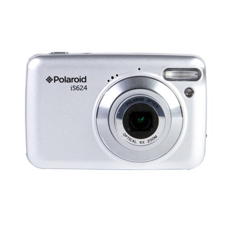 Polaroid 16 MP 6X Optical Zoom Digital Camera Silver