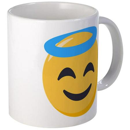 CafePress - Angel Smiley Emoji - Unique Coffee Mug, Coffee Cup CafePress