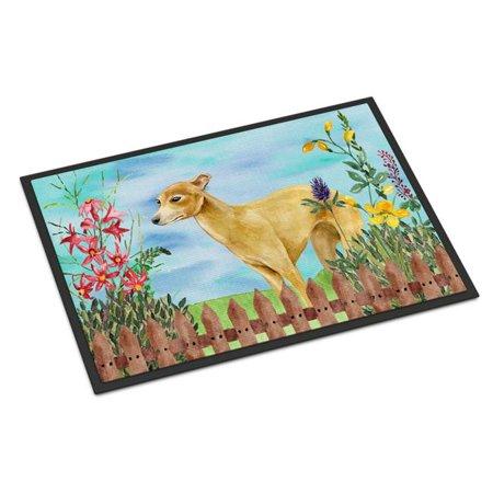 Carolines Treasures CK1260MAT Italian Greyhound Spring Indoor or Outdoor Mat - 18 x 27 in. - image 1 of 1