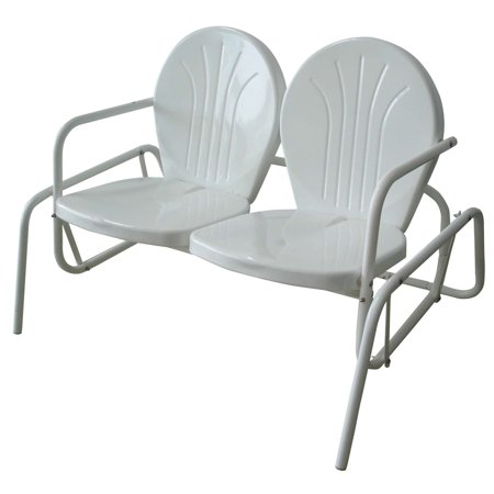 AmeriHome Outdoor Loveseat Glider ()