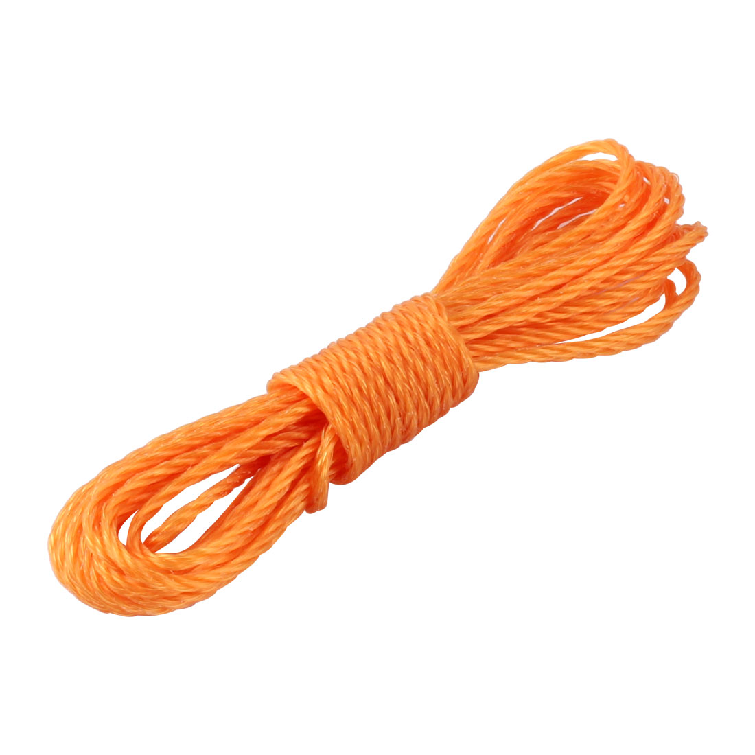 Household Outdoor Nylon String Clothes Line Clothesline Orange 5m Length