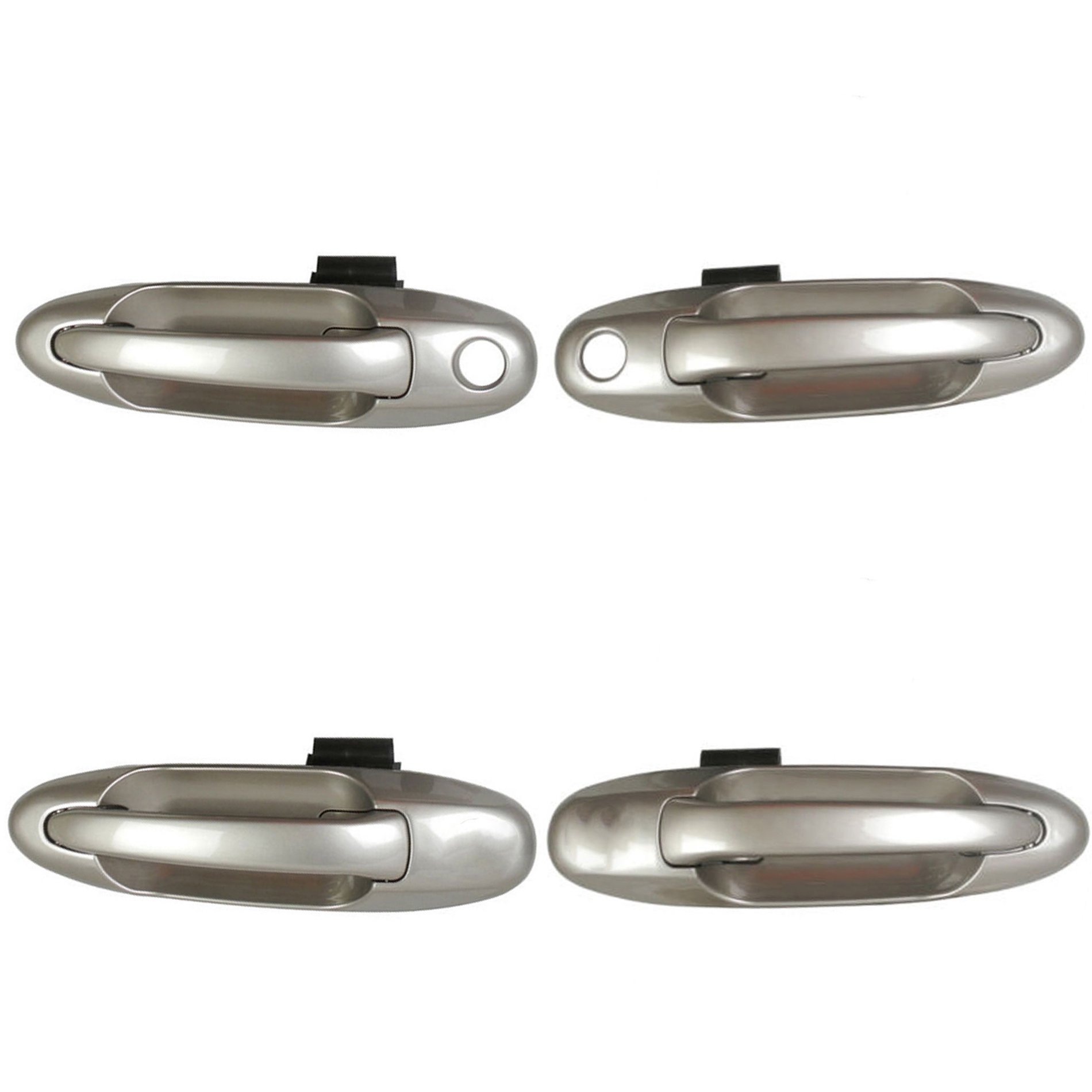 CF Advance For 01-07 Toyota Tundra Sequoia Front Rear Left Right Outside Door Handle Set of 4PCS 4Q2 Desert Sand Mica 2001 2002 2003 2004 2005 2006 2007