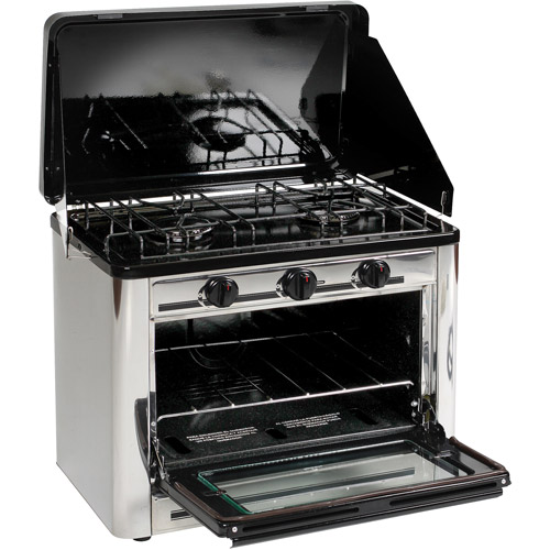 Stansport Outdoor Stove and Oven, Stainless Steel