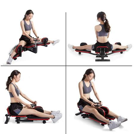 BestEquip Pro Leg Stretcher 330LBS Leg Stretch Machine Heavy Duty Steel Frame Leg Stretcher Training Fitness Equipment Leg Stretcher for Home Gym