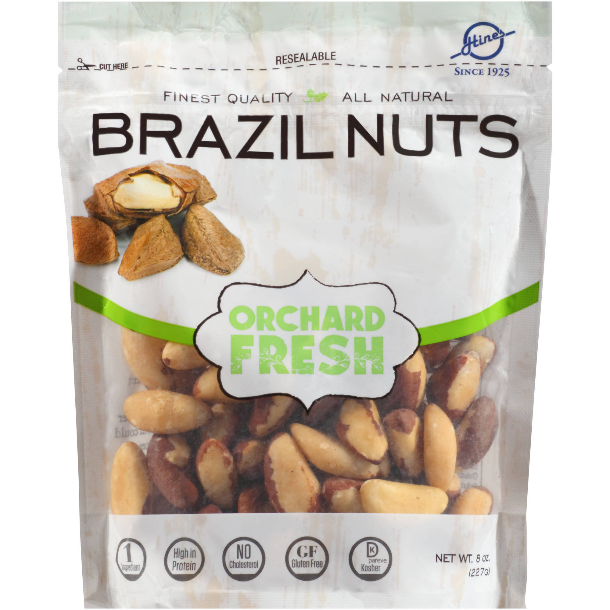 Sunshine Country Brazil Nuts, 8 oz - Walmart.com