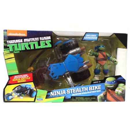 TMNT Leo w/Stealth Bike for $<!---->