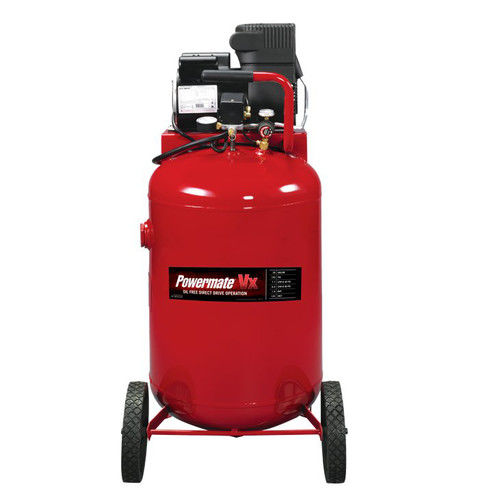 Powermate PLA1983012 VX 30 Gallon Direct Drive Oil-Free Portable Air Compressor by MAT Industries