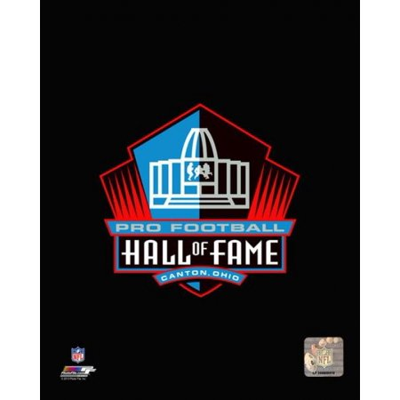 NFL Pro Football Hall of Fame Logo Photo Print - Pro Football Hall Of Fame Halloween